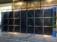 Backdrop ฉากหลัง(pop up pull frame)3x3 + 3x3 Backside